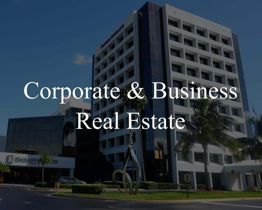 corporate and business real estate headline