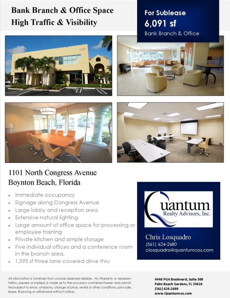 1101 North Congress Ave Brochure